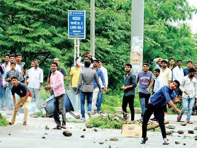 Riots in Chandani Chowk