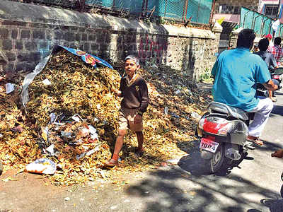 Dumped waste irks residents of Camp