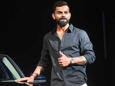Virat Kohli attends an event in Mumbai