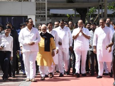 Mumbai: NCP chief Sharad Pawar files nomination for Rajya Sabha polls