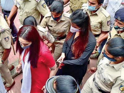 Ragini and Sanjjanaa's bail pleas rejected