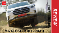 MG Gloster off-road review | 7 key highlights