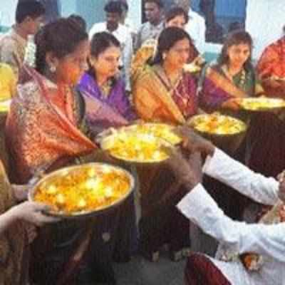 The grand ceremony of Sahastra Chandradarshan