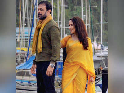 Madhuri Dixit returns to work with a love song in her first Marathi film, Bucket List