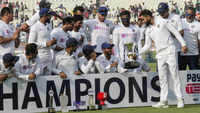 India win 'pink ball' test against Bangladesh, record 12th successive series win at home