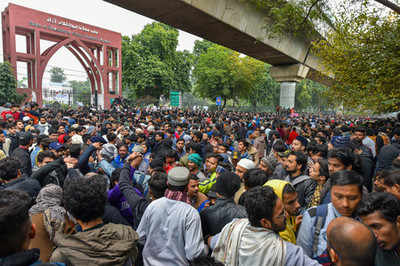 Jamia bans student protests on campus