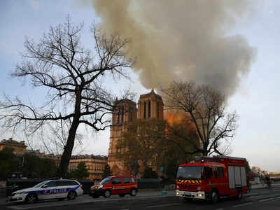 Fire devastates Notre-Dame Cathedral