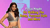 Pooja Hegde on walking the ramp and more