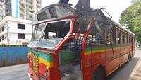 Mumbai: Lucky escape for passengers as BEST bus rams into tree