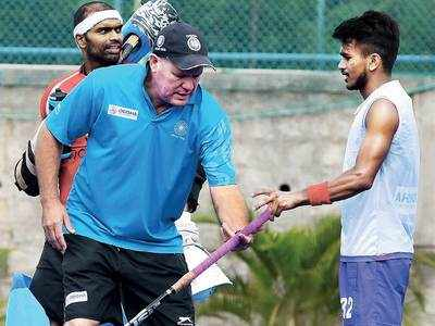 India could go to Olympics without any international games: coach Reid