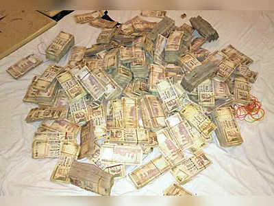 Demonetised notes worth Rs 4.9 crore seized, 3 detained