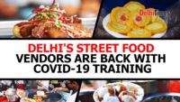 Delhi's street food vendors are back with COVID-19 training