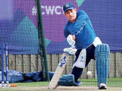 All eyes on MS Dhoni as he gears up for what is likely to be his last major tournament