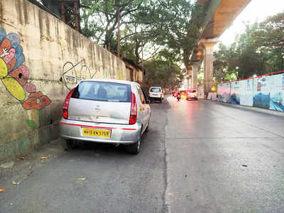 Offences rife on Bund Garden Road stretch