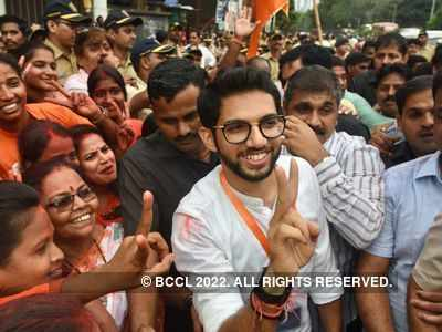 Poster calling Aaditya Thackeray as future Chief Minister pops up in Worli