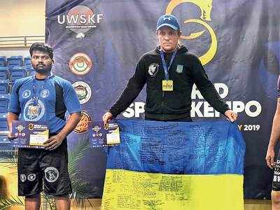 Wrestler from Phaltan fights funds crunch, brings home silver