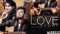 Latest Punjabi Song 'Love Story' (Teaser) Sung By Shubham Featuring Emanat Preet Kaur