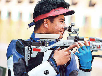 Dhanush Srikant shoots his way to Khelo India Gold