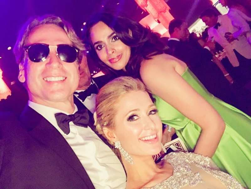 Mallika Sherawat spotted partying with Paris Hilton