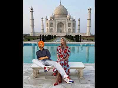 Diljit Dosanjh photoshops himself with Ivanka Trump