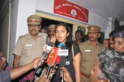 Two held for harassing south actresses Amala Paul and Sanusha in different incidents