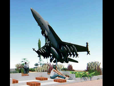 BMC to install iconic navy jet at Bandra Bandstand