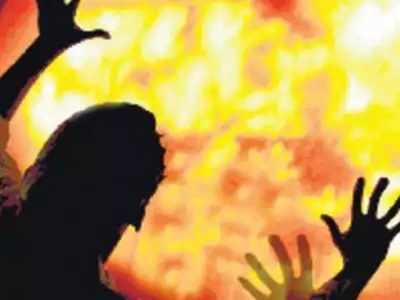Bengaluru: Man burnt alive in abandoned car