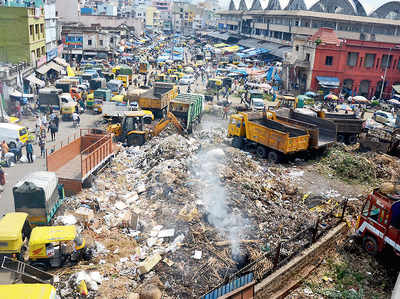 Garbage bomb waiting to explode in city