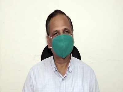 Delhi Health Minister Satyendar Jain hospitalised after high fever, difficulty in breathing