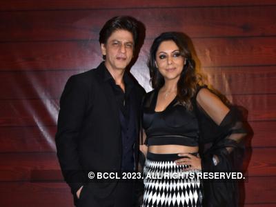 Gauri Khan has a second career option suggestion for Shah Rukh Khan