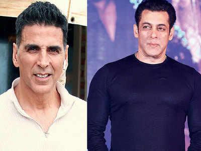 Salman Khan met Akshay Kumar but didn't talk about their impending Eid clash