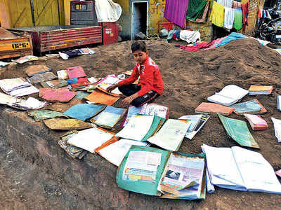 Flood-hit students of Parvati struggle to resume school