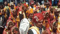 Indore: 20 couples take oath during mass-marriage ceremony to cast vote