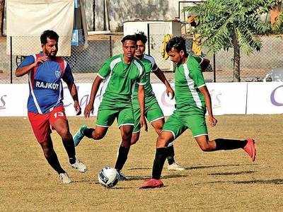 A'bad's football team sinks Rajkot