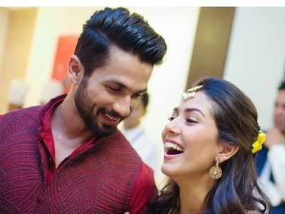 Mira Rajput wishes Shahid Kapoor on wedding anniversary; says 'I fall in love with you more every day'