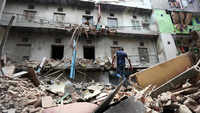 4-storey building collapses in Delhi