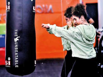 Sanya Malhotra's tryst with boxing