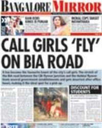 Call girls 'fly' on BIA road