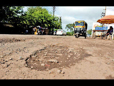 Pune will have to live with its potholes for now: PMC
