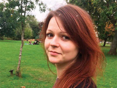 Russian former spy Sergei Skripal's daughter Yulia Skripal discharged from hospital in UK
