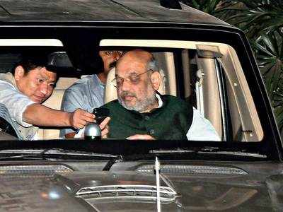 Amit Shah in town, raises speculations