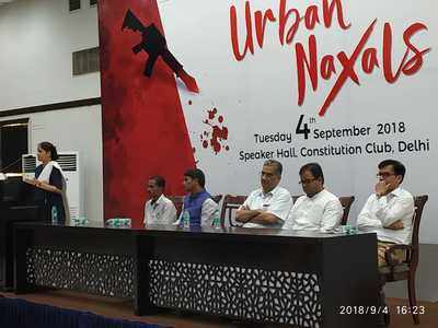 Know Your Urban Naxal seminar: Victims narrate real-life experiences of Naxal horror