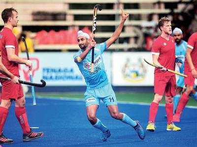 Mandeep Singh shines as India thrash Canada 7-3 to enter Azlan Shah final in Malaysia