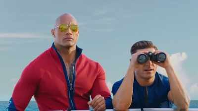 Baywatch new trailer: Dwayne Johnson, Zac Efron and Priyanka Chopra raise the temperature