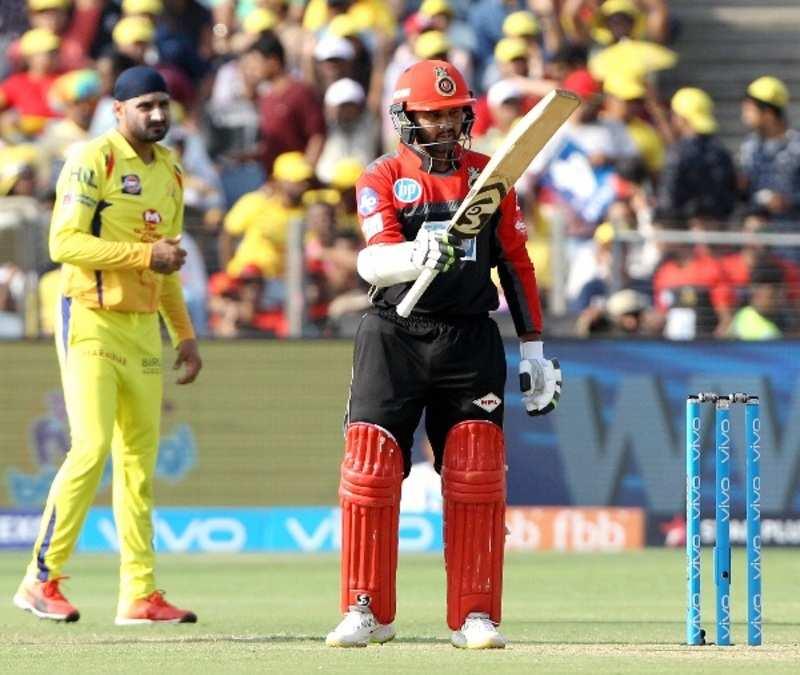 Parthiv Patel scores a half century for RCB