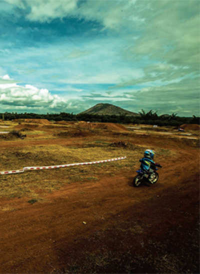 Off-road, on course