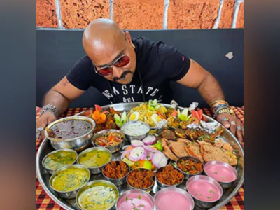 This Pune restaurant offers a Royal Enfield in exchange for finishing their 'Bullet Thali'