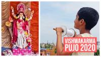 Vishwakarma Pujo 2020: Devotees fly kites to celebrate in West Bengal