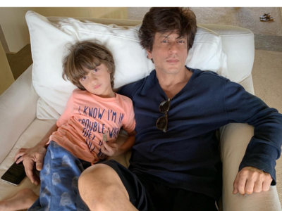 Photo: Shah Rukh Khan is one proud father as son AbRam clinches medals at the races