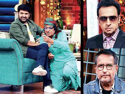 Comic relief with three baddies on The Kapil Sharma Show